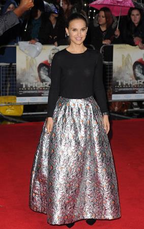 "Natalie Portman ""Thor: The Dark World"" UK Premiere in London, October 22, 2013"