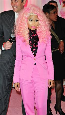 Nicki Minaj  Pink Friday  Fragrance Holiday Season Celebration in New York City (November 20, 2012)