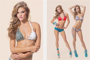 Nina Agdal - The La Boheme by Martha Rey (Swimwear 2013)