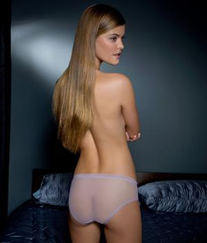 Nina Agdal Bare Necessities Calvin Klein Lingerie Collection 2013