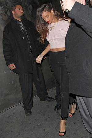 Rihanna at The Robury in Hollywood 1/10/13
