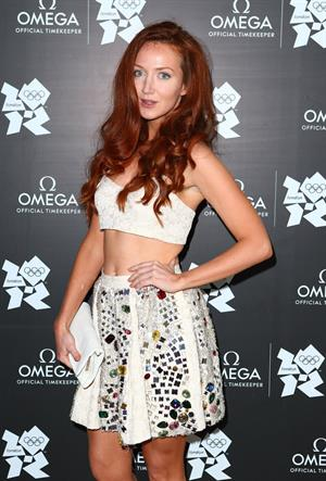 Olivia Grant attends the launch of OMEGA House on July 28, 2012 in London, England