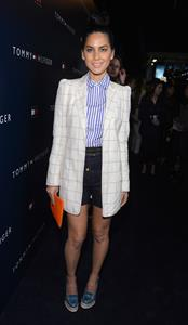 Olivia Munn attends the opening of Tommy Hilfiger's New West Coast Flagship Store in Los Angeles on February 2, 2013