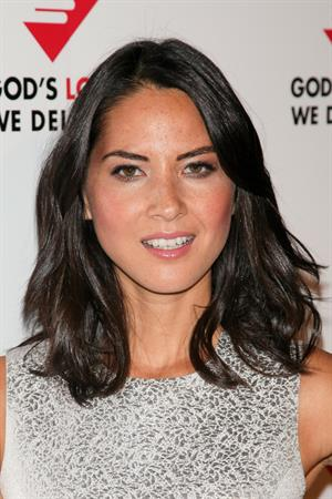 Olivia Munn God's Love We Deliver 2012 Golden Heart Awards Celebration, October 15, 2012