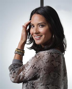Olivia Munn  The Babymakers  Press Conference Portraits in Los Angeles - July 24, 2012