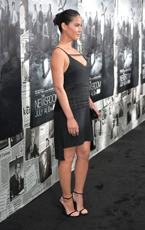 Olivia Munn attends the Los Angeles Season 2 Premiere Of HBO's Series  The Newsroom , July 10, 2013