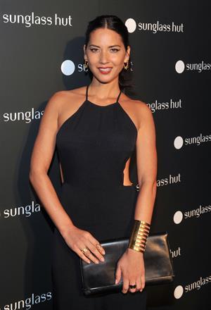 Olivia Munn Sunglass Hut Times Square Store Launch Event, September 10, 2013