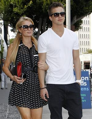 Paris Hilton Shopping at Kitson in Beverly Hills April 5, 2013