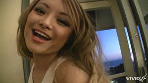 Tila Tequila gets nude and gives a blow job