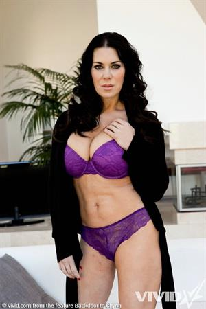 Chyna in images from Backdoor to Chyna