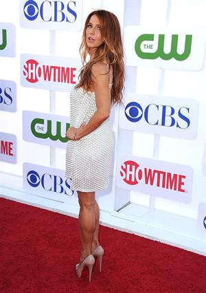 Poppy Montgomery arrives at the 2012 TCA Summer Tour - CBS, Showtime And The CW Party at 9900 Wilshire Blvd on July 29, 2012 in Beverly Hills, California
