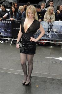 Rebecca Ferdinando -  The Dark Knight Rises  European Premiere in London (July 18, 2012)