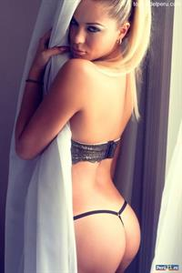 Joscelyn Condezo in lingerie - ass