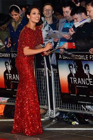 Rosario Dawson - 'Trance' London premiere 3/19/13