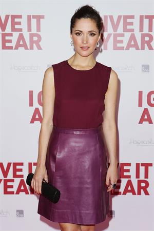 Rose Byrne at the  Give It A Year  Premiere 2013-01-15