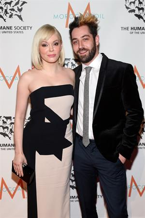 Rose McGowan at The Humane Society of the United States To the Rescue! New York Gala December 18, 2012