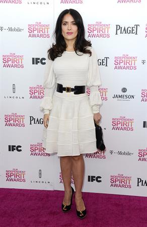 Salma Hayek 2013 Film Independent Spirit Awards in Santa Monica - February 23, 2013