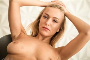 Vika P poses nude for FemJoy