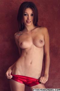 Ashley Doll Red Shorts