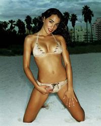 Natalie Martinez in a bikini