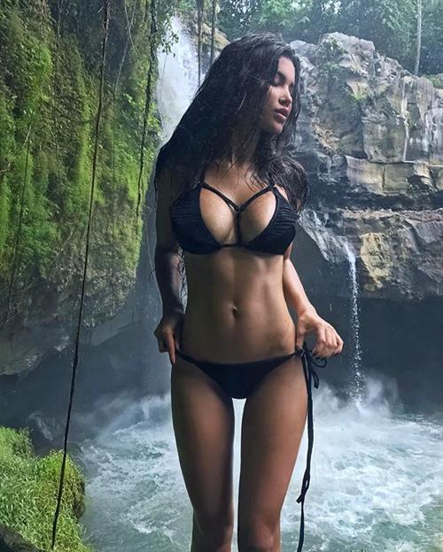 Svetlana Bilyalova in a bikini