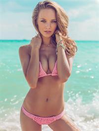 Julianna Sharkey in a bikini
