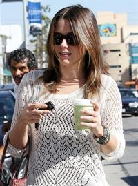 Sophia Bush Urth Cafe in West Hollywood - October 26, 2012