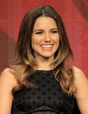 Sophia Bush at the 'Partners' discussion panel during the CBS portion of the 2012 Summer Television Critics Association tour