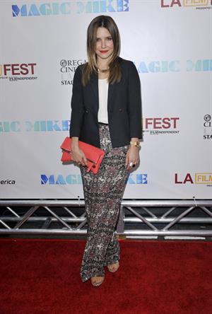 Sophia Bush - Magic Mike premiere and Closing Night Gala at Los Angeles Film Festival June 24, 2012