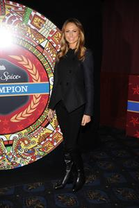 Stacy Keibler Dikembe Mutombo's '4.5 Weeks To Save The World' Launch Event in New York City 12/4/12