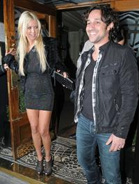 Tara Reid - Leaving Groucho Club in London 9/20/12
