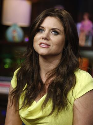 Tiffani Amber Thiessen - Watch What Happens Live Season 7 - Episode 718 (July 17, 2012)