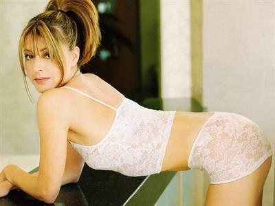 Jane Leeves in lingerie