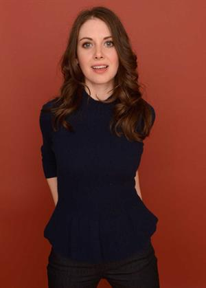 Alison Brie Toy House Portraits at the Sundance Film Festival in Utah January 19, 2013
