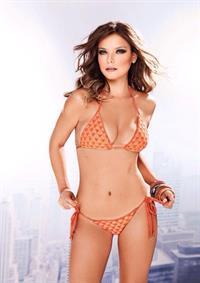 Milena Toscano in a bikini