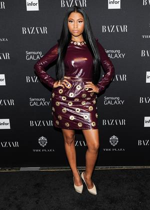 Nicki Minaj at the HARPERS BAZAAR Celebrate ICONS September 6, 2014