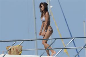 Nicole Scherzinger in a bikini in Ibiza on August 31, 2014