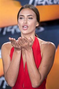 Irina Shayk European premiere of Hercules in Berlin August 21, 2014