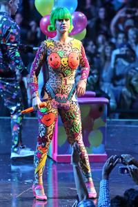 Katy Perry live in Winnipeg during her Prismatic tour August 26, 2014