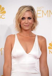 Kristen Wiig at the 66th annual Primetime Emmy Awards, August 25, 2014