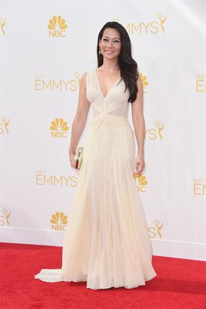 Lucy Liu at the 66th annual Primetime Emmy Awards, arrivals August 25, 2014