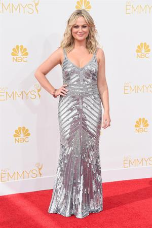 Amy Poehler at the 66th annual Primetime Emmy Awards, August 25, 2014