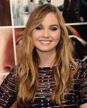 Liana Liberato at the premiere of If I Stay August 20, 2014