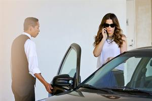 Kate Beckinsale leaving E Baldi reataurant in Los Angeles  August 20, 2014