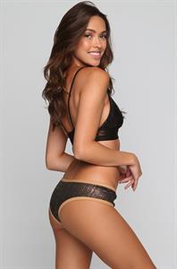 Melody Le in a bikini - ass