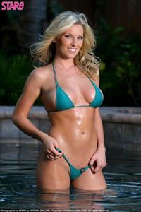 Ashley Alexis Smith in a bikini