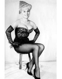 Barbara Windsor in lingerie