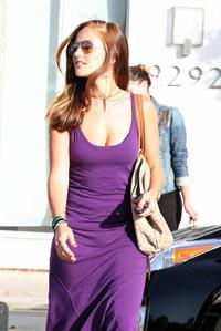 Minka Kelly leaving Byron and Tracy salon in Los Angeles 08 06 12