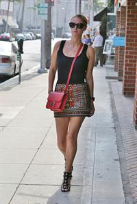 Nicky Hilton stop at a nail salon in Beverly Hills October 22, 2013
