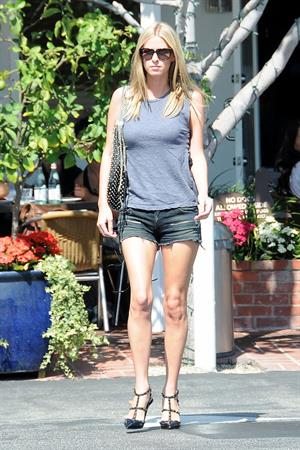 Nicky Hilton leaving Fred Segal in West Hollywood 9/27/12